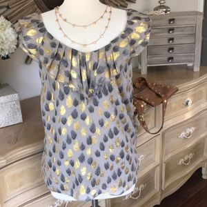 Anthropologie party blouse